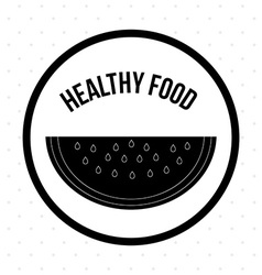 Healthy food design vector