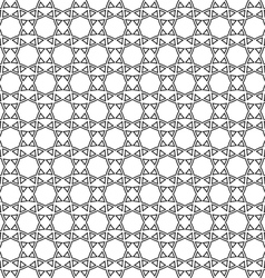 Abstract ethnic delicate seamless pattern vector image
