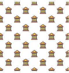 bank pattern vector image