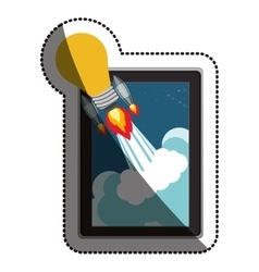 Device and start up concept design vector