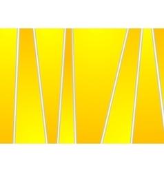 Bright yellow orange tech corporate stripes design vector