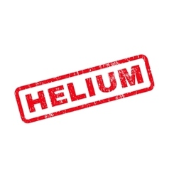Helium text rubber stamp vector