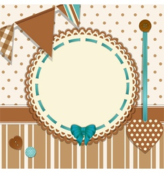 Invite background vector image vector image