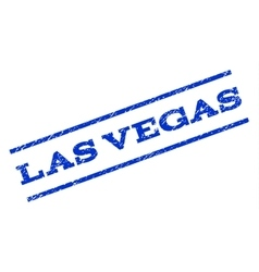 Las vegas watermark stamp vector