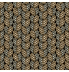 weaving surface vector image vector image