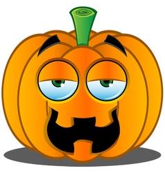 Pumpkin Face 8 vector image