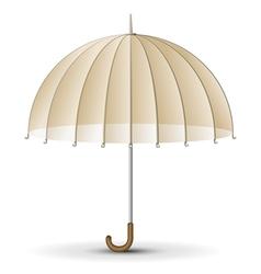 Retro sun umbrella vector