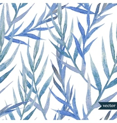 Blue leafs vector