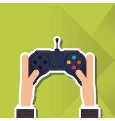 Game control icon design vector
