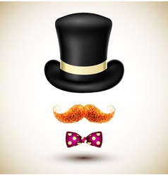 Accessories magician vector image