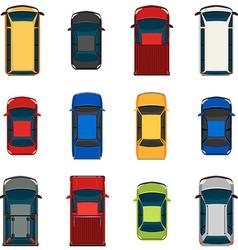 Set of vehicles vector