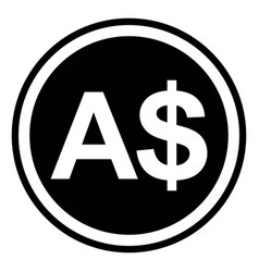 Sign currency australia australian dollar vector