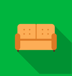sofa icon of for web and vector image vector image