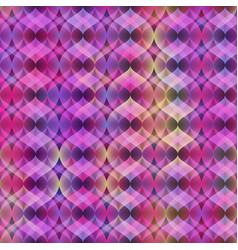 ultra violet neon seamless pattern vector image vector image