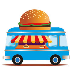 Burger van vector