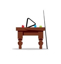 Billiard Table Cartoon vector image