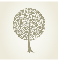 Tree spa vector
