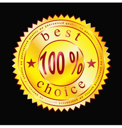 best label-sticker vector image