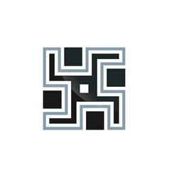 mosaic ornament vector image vector image
