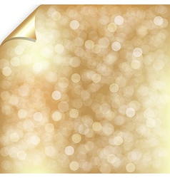 Gold backgrounds with bokeh vector