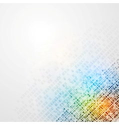 Colorful tech background vector