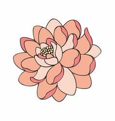 Beautiful flower for design vector
