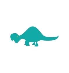 Cute dinosaur toy vector