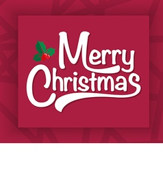 Merry christmas and happy new year text free hand vector