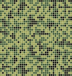 Mosaic camouflage style vector image vector image