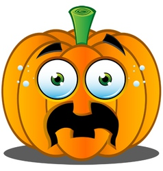 Pumpkin Face 10 vector image