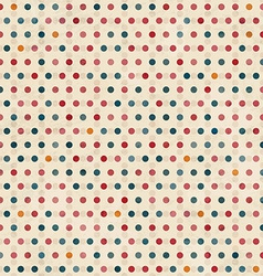 point seamless pattern with grunge effect vector image