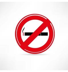 smoking area smoking icon vector image