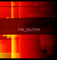 Glitch background digital image data vector