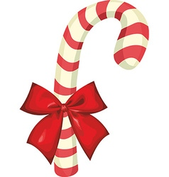 Candy cane object vector