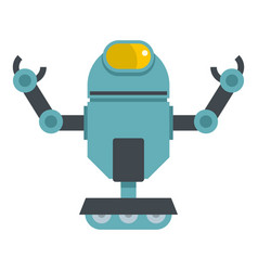 Machine robot icon isolated vector