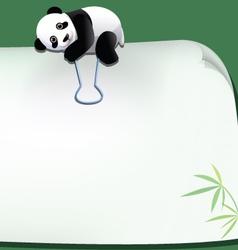 panda 042 vector image