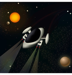 A spacecraft vector