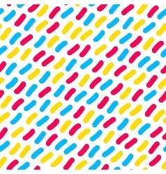 Seamless multicolor confetti hand drawn vector