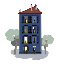 Building whith characters vector