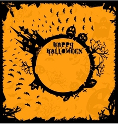 Halloween art vector