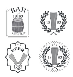 Beer fresh vector
