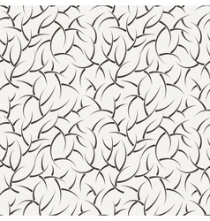 Seamless floral pattern of short branches vector