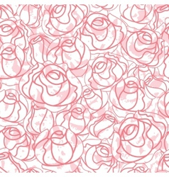 Seamless roses pattern backdrop vector