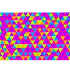Retro triangle pattern retro triangle pattern pop vector