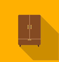 Cupboard icon of for web and vector