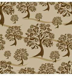 autumn pattern thanksgiving vector image