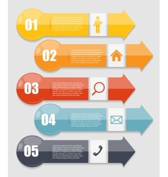 Infographic templates for business vector