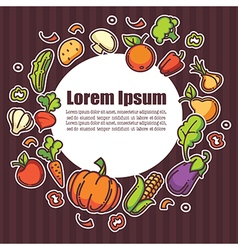 Farm food vector