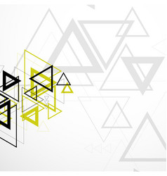 modern geometric background vector image vector image