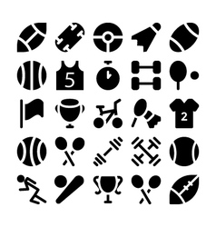 Sports icon 1 vector image